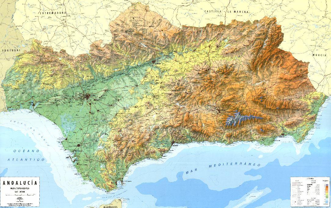 Visor Cartografico De Andalucia Geamap Com Visualiza Mapas